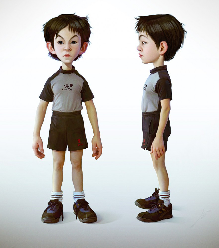 Character Design Little Boy : Character design course